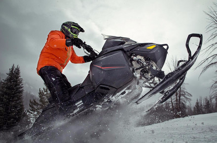 Snowmobile trails or boondocking in Hearst