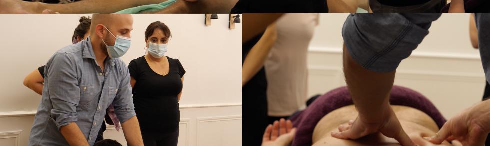 Formation massage et Fascia Thérapie - Trigger Points (points gâchettes) Montpellier Tissu