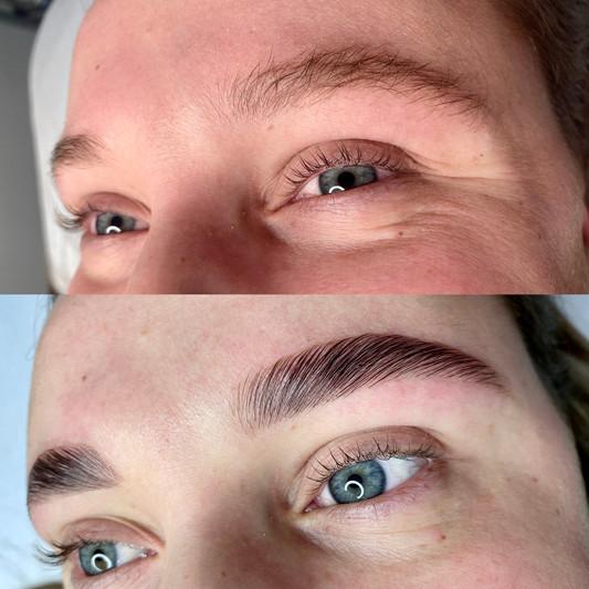 Eyebrow lamination Wellington