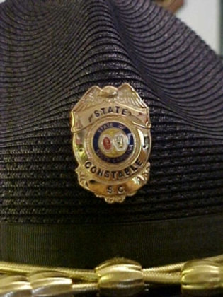 CAMPAIGN HAT BADGE  (S159)