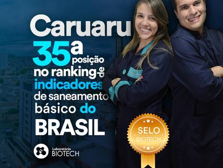 CARUARU SE DÁ BEM NO RANKING DE SANEAMENTO BÁSICO