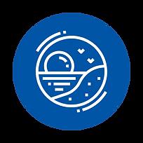 Coastal marine icon