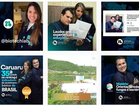 Conheça o Instagram da Biotech