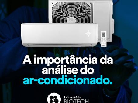A importância da análise do ar-condicionado