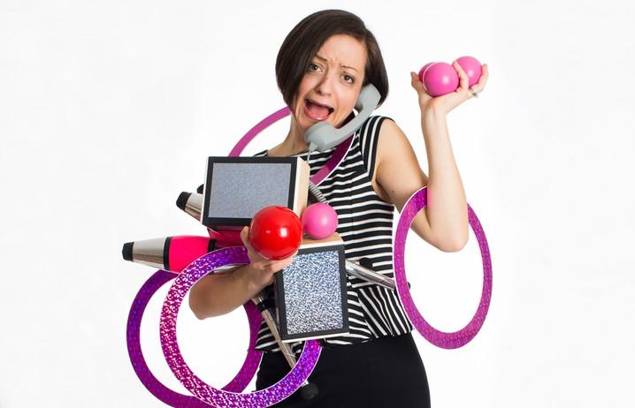Juggling with Jen Slaw
