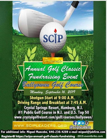 SCIP_Annual Golf Classic Fundraising Eve