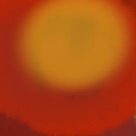 Orange Sun III, 2019