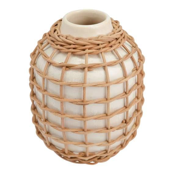 Rattan Vase White .jpg