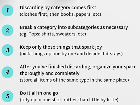 KonMari Tidying Up Method and Why Implement It?