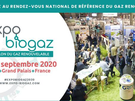 Expobiogaz : Nous vous attendons à Lille