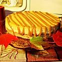 Pumpkin Caramel Drizzle Cheesecake