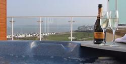 Luxury Hot tub Apartment Devon