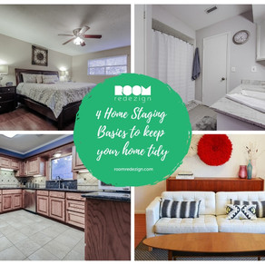 How to use Home Staging basics to achieve your New Year's resolutions
