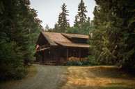 William Smith loves his cabin in the woods.