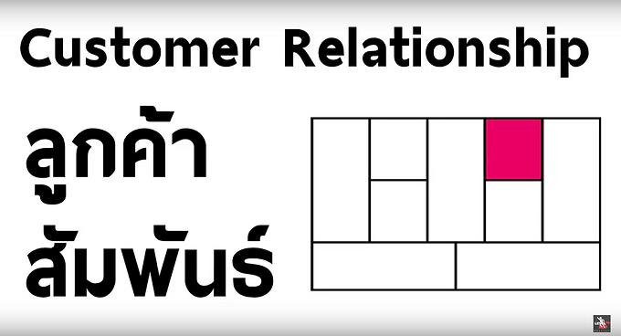 Customer Relationships ความสัมพันธ์กับลูกค้า