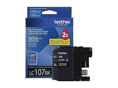 CARTUCHO DE TINTA BROTHER NEGRO 1200P MFCJ4510DW/MFCJ4710D (LC107BK)