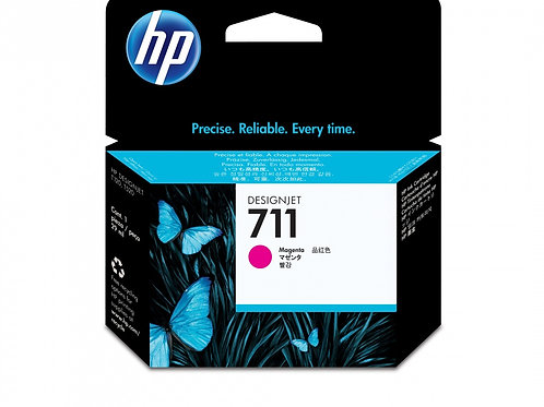 TINTA HP 711 29-ML MAGENTA DESIGNJET INK PLOTTER T120 (CZ131A)