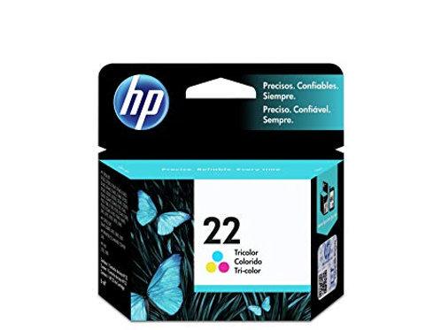 TINTA HP 22 COLOR  165 PAG P/DJ D1660,D2545,F2430,F2430,PS (C9352AL)