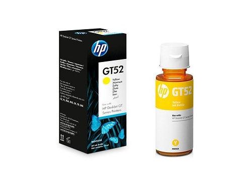 BOTELLA DE TINTA ORIGINAL AMARILLA HP GT52, GT5820 (M0H56AL)