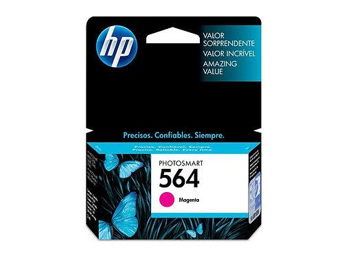 TINTA HP 564 MAGENTA 300 PAG P/PS B8550, C6350, D5460 (CB319WL)