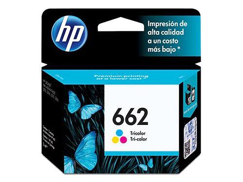 TINTA HP 662 COLOR P/1015, 1515, 2515,3515,3545,4645 (CZ104AL)
