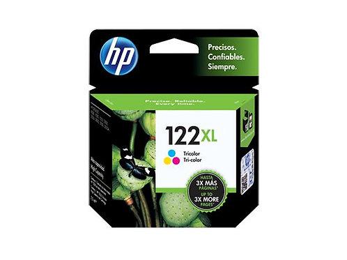 TINTA HP 122XL TRI-COLOR  P/ DESKJET1000, 2000, 2050, 3050 (CH564HL)