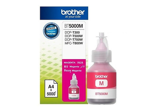 BOTELLA BROTHER MAGENTA BT5001C P/T300, T500W, T800W (BT5001M)
