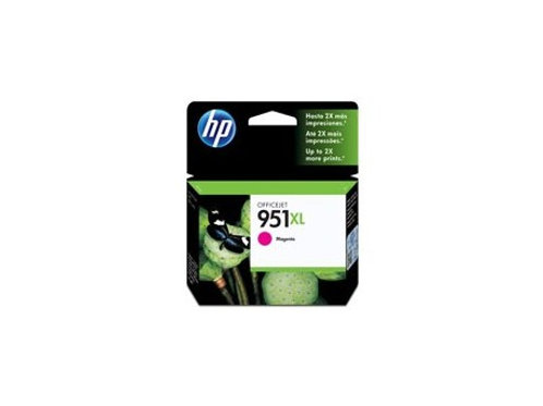 TINTA HP 951XL MAGENTA 1500 PAG P/OJ PRO 8100, PRO 8600 (CN047AL)
