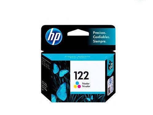TINTA HP 122 COLOR  P/ DESKJET 1000, 2000, 2050, 3050 (CH562HL)