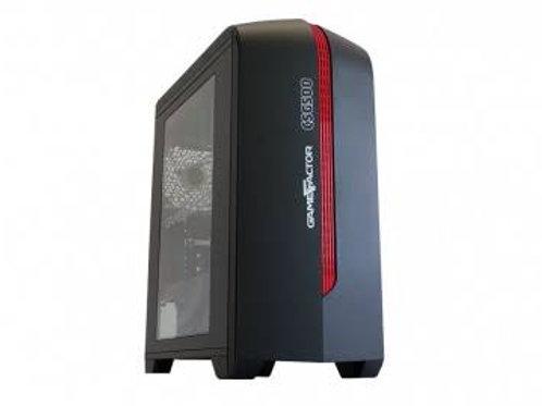 GABINETE VORAGO GAME FACTOR TORRE ATX USB 3.0 2 VENT ROJO (CSG500-RD)