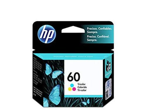 TINTA HP 60 COLOR P/PS D110 DJ D2545  D2660 F4580 (CC643WL)