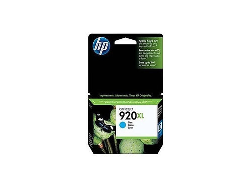 TINTA HP 920XL CYAN P/OJ PRO 6000, 6500, 7500 (CD972AL)