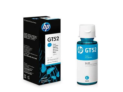 BOTELLA DE TINTA ORIGINAL CYAN HP GT52, GT5820 (M0H54AL)