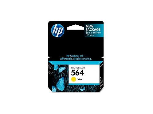TINTA HP 564 AMARILLO P/PS B8550, C6350, D5460 (CB320WL)