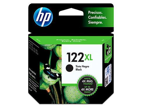 TINTA HP 122XL NEGRO P/ DESKJET1000, 2000, 2050, 3050 (CH563HL)