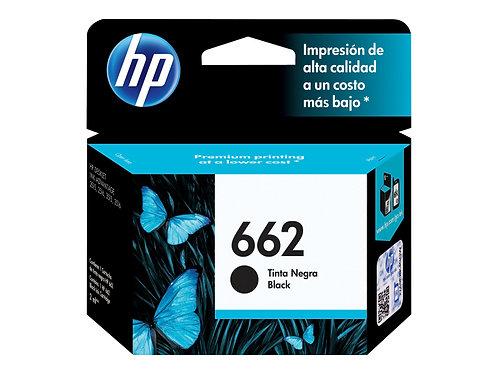 TINTA HP 662 NEGRO P/ 1015, 1515, 2515, 3515, 2545, 3545, 26 (CZ103AL)