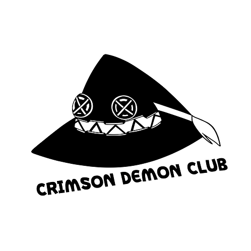 Crimson Demon Club Vinyl Decal
