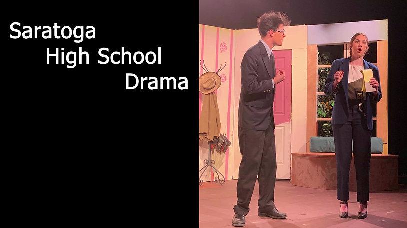 Learn about the Saratoga High School Drama program