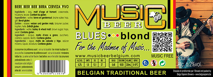 MUSICBEER BLUES Blond