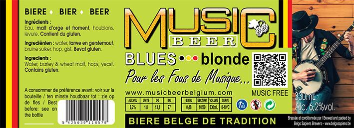 MUSIC BEER-blues-Blonde