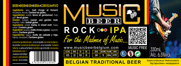 MUSICBEER-ROCK-Amber IPA