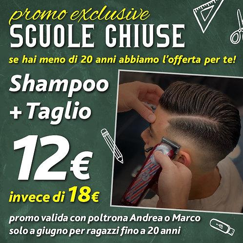 Taglio e shampoo (Giugno)