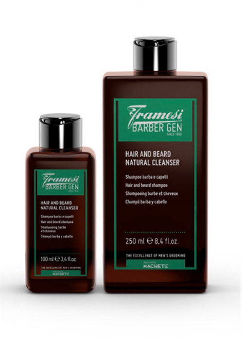Hair and Beard Natural Cleanser