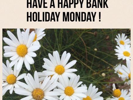 Happy Bank Holiday!
