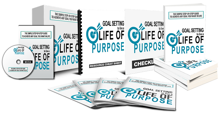 Goal Setting to Live a Life of Purpose Package