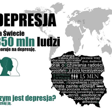 Nie-chorobowa depresja, a choroba depresja, czyli depresja potoczna, a depresja prawdziwa