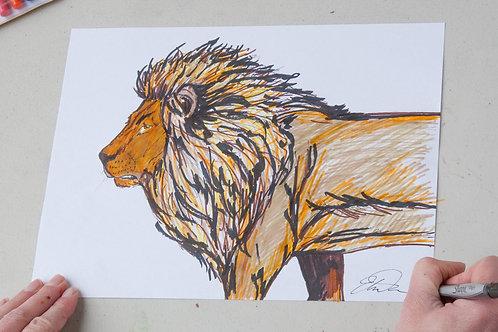 Lion PDF Lesson