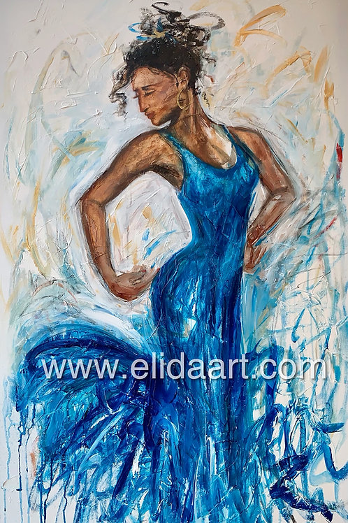 Vivian In Blue
