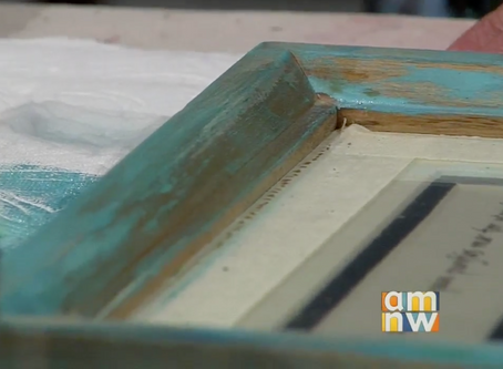 Upcycle your Old Mirror or Frames