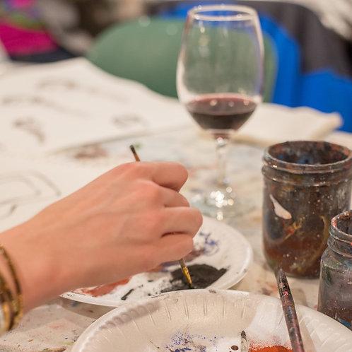 Art~Women~Wine
